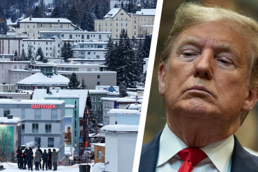 Donald Trump's speech at Davos is putting chill down European spines