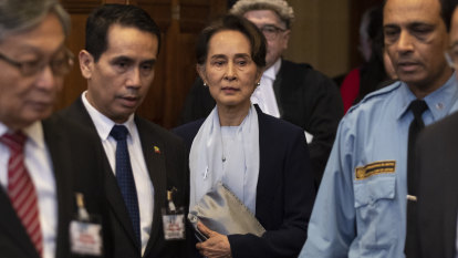 Myanmar leader Aung San Suu Kyi says Rohingya genocide case 'misleading'
