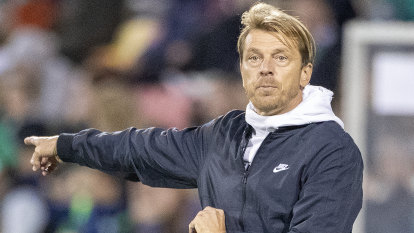 Matildas homecoming shapes as make or break for coach Gustavsson