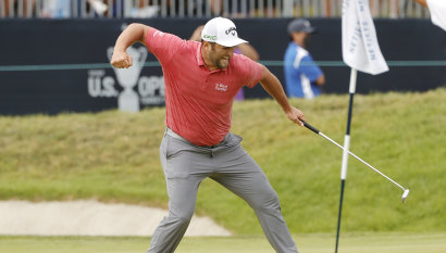 'I'm a big believer in karma': Weeks after COVID-19 diagnosis, Rahm wins US Open