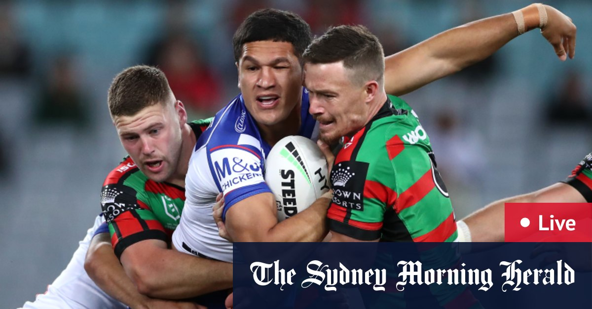 Nrl 2020 Live Blog Updates And Scores South Sydney Rabbitohs Vs Canterbury Bulldogs At Anz Stadium
