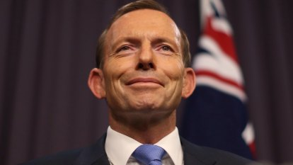 Don't sabotage free trade talks with a debate over climate change, Tony Abbott tells Britain