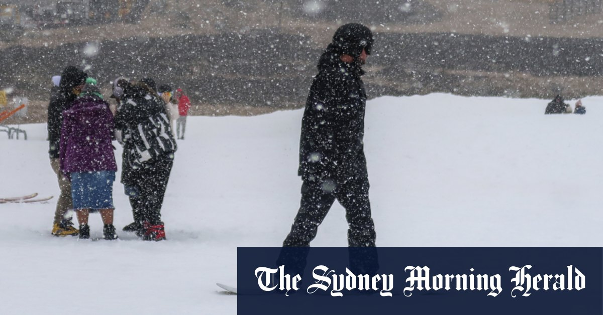 Polar blast brings icy temperatures and snow to regional NSW – Sydney Morning Herald