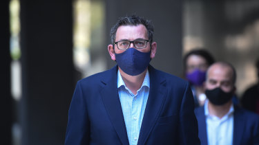 """Victorian Premier Daniel Andrews announced stage four restrictions and a """"state of disaster"""" on Sunday afternoon."""
