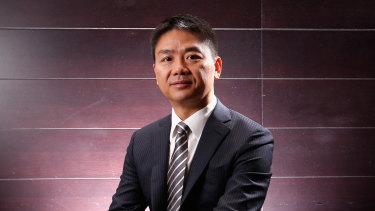 Billionaire Richard Liu.