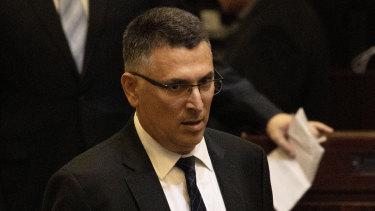 Israeli politician Gideon Saar.
