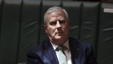 Deputy Prime Minister Michael McCormack.