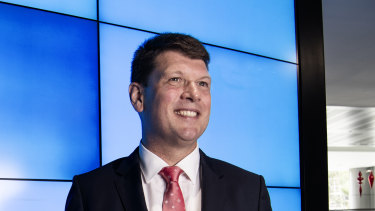 Newly appointed AGL CEO Brett Redman has plans to lead the company through the energy transition from fossil fuels to renewable power.