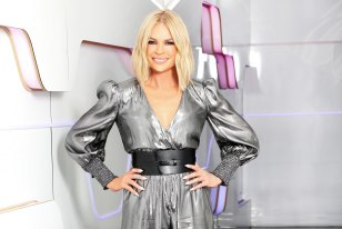 The seven network has been left in suspense about the performance of Wednesday's Big Brother grand final episode. Pictured is host Sonia Kruger.