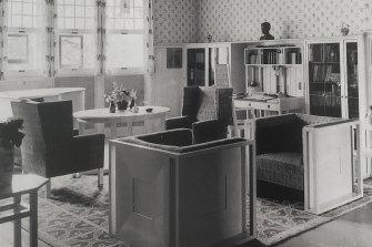 An interior full of Hoffmann originals.