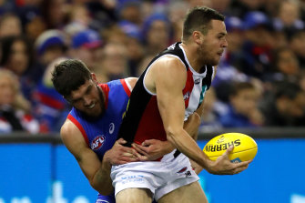 Brad Crouch has said he thinks some players won't own up to concussions due to the AFL's new rule.