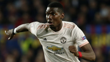 Paul Pogba says Manchester United's performance against Everton was 'disrespectful'.