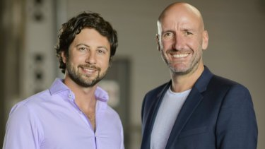 Chris Culvenor and Paul Franklin of Eureka, producers of Netflix's Dating Around.