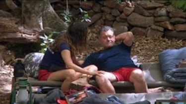 Former royal butler Paul Burrell tells of Diana's death to Jackie Gillies on I'm A Celebrity Australia.