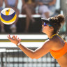 'Dominant as we've ever had': the beach volleyball duo vying for gold