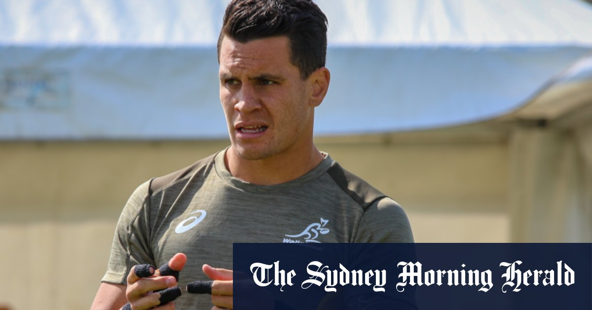 The stress of Bledisloe week a little different for To'omua this time – Sydney Morning Herald