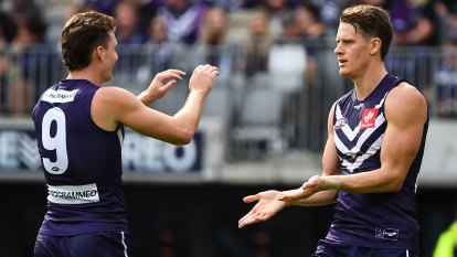Dockers deny Hawks a second stirring comeback for 2021