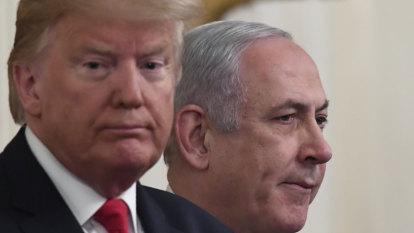 Trump's Israel-Palestine peace plan derided as 'slap of the century'