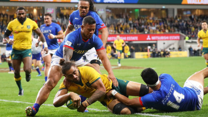 Wallabies survive Samoan scare as Pocock gets through unscathed
