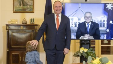 Deputy Prime Minister Barnaby Joyce, who has two young sons, says he his a beneficiary and supporter of childcare.