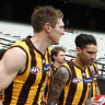 'We wanted a better hand': Hawks missed out in 2021 but will stay aggressive