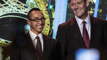 James Packer and Lawrence Ho