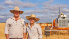 Queenslanders Andrew and Jocie Bate have global plans for their pioneering agricultural robotics company SwarmFarm.