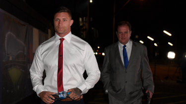 Tariq Sims is banned by the judiciary and subsequently missed the State of Origin decider.