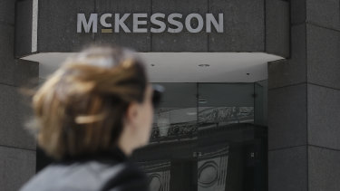 McKesson distributed more than 18 per cent of the nation's opioids from 2006 to 2012 — the most of any company — but said it didn't push sales.