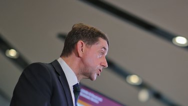 Queensland Treasurer Cameron Dick delivers an economic update ahead of the state election.