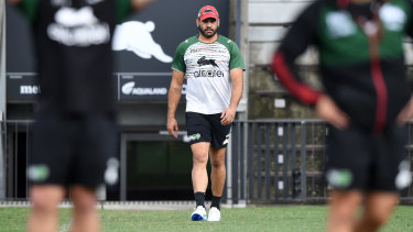 Tough start: Greg Inglis suffered two minor injuries against the Dragons having already had a limited pre-season.