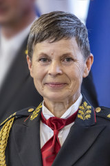 Major General Alenka Ermenc.