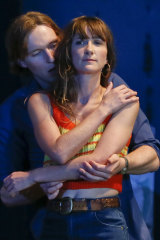 Sean Keenan and Esther Hannaford in Cosi.