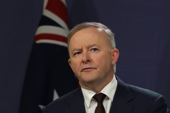 Federal Labor leader Anthony Albanese.