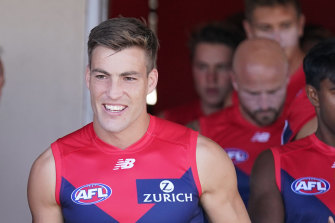 """Jack Viney says he is """"all in"""" in supporting  new skipper Max Gawn, after having been named as vice-captain for this season."""