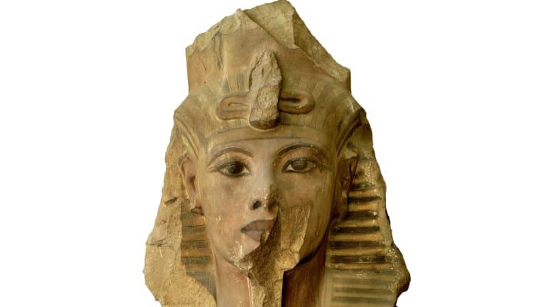 Colossal Quartzite Statue of Tutankhamun.
