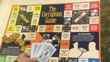 Corruption the board game.