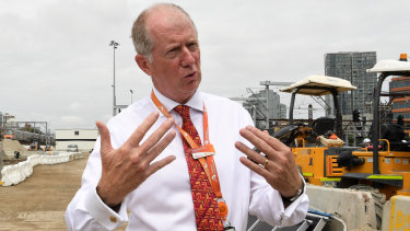 Sydney Trains chief executive Howard Collins says commuters might experience some delays during the evening peak.