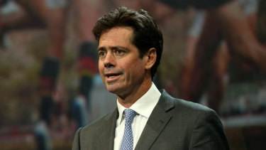 AFL boss Gillon McLachlan is (still) looking for a new government relations boss.