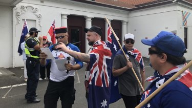 Far-right agitator Neil Erikson has been barred from entering Moreland City Council's citizenship ceremony in Coburg.