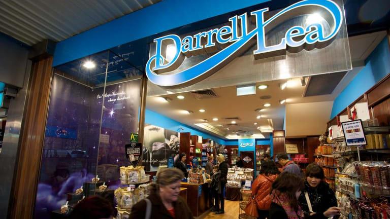 Darrell Lea's former store in Melbourne's Swanston Street.