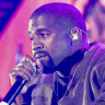 At Coachella, the gospel according to Kanye West