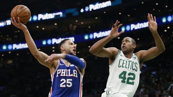 Ben Simmons stars, but fellow Aussie has final word in NBA season opener
