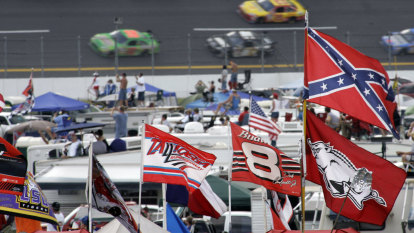'Despicable': noose found in NASCAR black driver Bubba Wallace's garage
