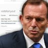 Turnbulls get behind campaign to boot Tony Abbott from his seat