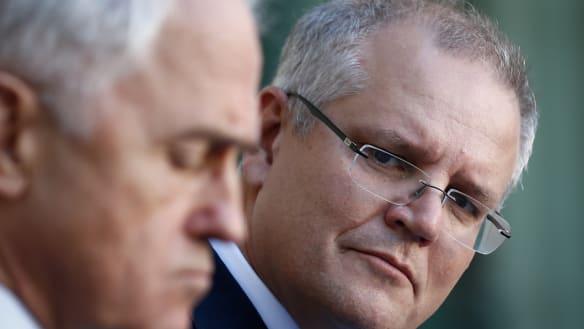 Scott Morrison reprimands Malcolm Turnbull