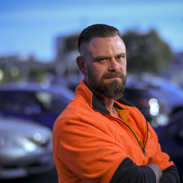 Chris Greve, a former employee at auto components maker Dana, was one of the thousands of laid-off workers when auto giant Ford shut down