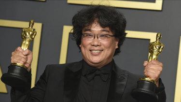 Parasite director Bong Joon-Ho made Oscars history.