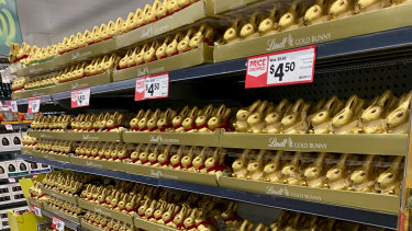 It doesn't appear there are any limits on the number of Easter eggs per customer.