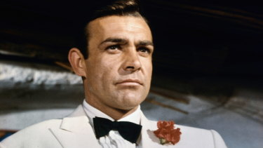 The original, and perhaps the finest, James Bond, actor Sean Connery.